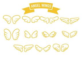 Engelenvleugel pictogram vector