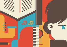 Beethoven Illustratie vector