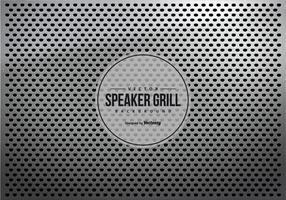 Grijze Metalen Speaker Grill Textuur Achtergrond vector