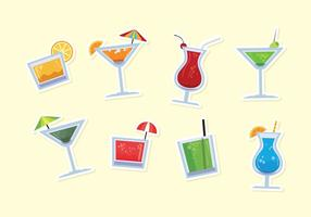Mocktail vector