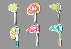 Butterfly Net Collection Vector Illustratie