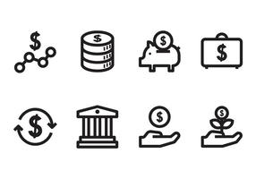 Benefit & Business Icon vector