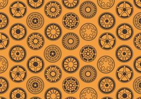 Legering Wheels Patroon Vector