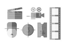 Gratis Uitstekende Silent Film Vector