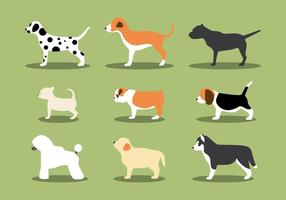 De Puppies Vectors