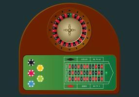 Roulette Tabel Vector