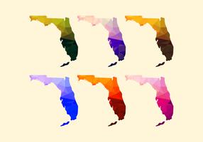 Florida Kaart Vector