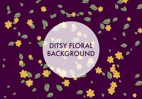 Ditsy Achtergrond Vector