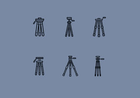 Gratis Camera Tripod Vector