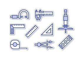 Gratis Uitstaande Micrometer Vectors
