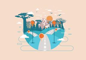 Roadmap naar de Mountain Vector