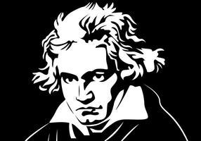 Beethoven Portret Vector