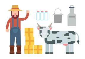 Vrijstaande Boerenvectoren vector