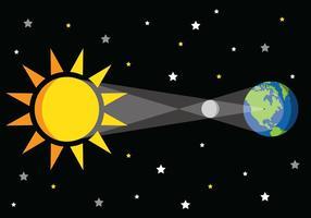 Eclipse Vector Graphic
