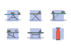 Strijkplank Gratis Vector Pakket