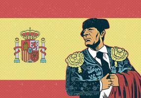 Spanje Stierenvechter Vector