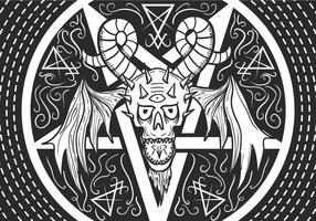 Lucifer vector illustratie