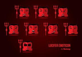 Lucifer Emoticon Vector