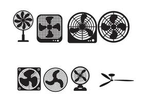 Plafondventilator vector icoon