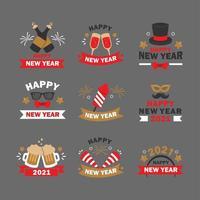 leuk en gelukkig nieuwjaarsfeest