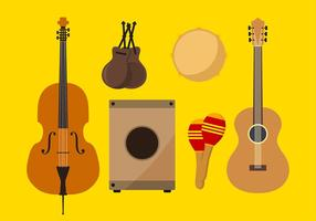 Spanje Instrument Gratis Vector