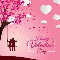 gelukkige Valentijnsdag concept