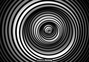Vector Zwart-witte Vertigo Achtergrond