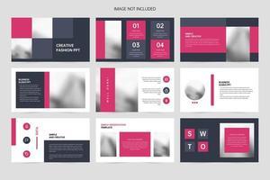 bedrijf eenvoudige presentatie ppt-sjabloon