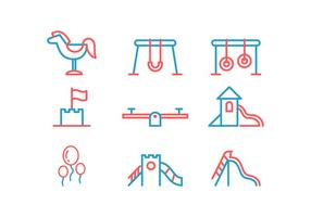 Gratis Jungle Gym Vector Icon