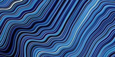 donkerblauwe achtergrond met wrange lijnen.