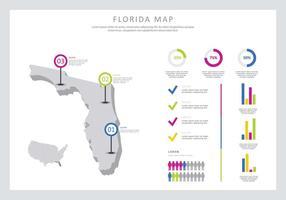 Gratis Florida Infographic Illustratie vector