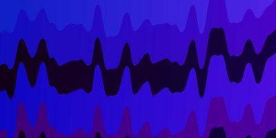 donkerroze, blauwe achtergrond met cirkelvormige boog. vector