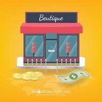 online winkelen op website of mobiele applicatie