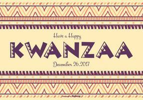 Kleurrijke Gelukkige Kwanzaa Illustratie vector
