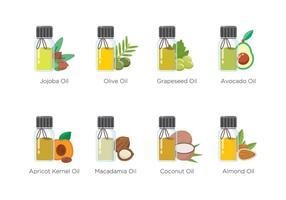 Gratis Essentiële Oliën Icon vector