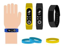 Armband Elektronisch vector