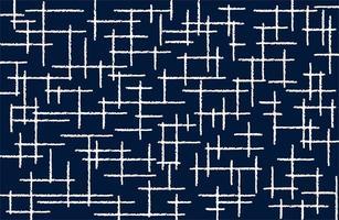 willekeurig streeplijnen stofpatroon vector