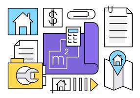 Gratis Real Estate Deal Pictogrammen vector