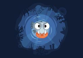Piranha Illustratie Vector