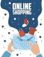 tablet met online winkeltechnologie