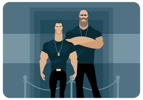 bodyguards vector