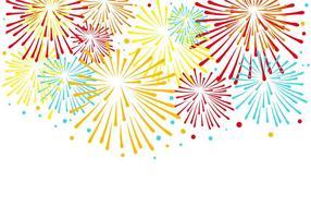 Gratis Kleurrijke Vuurwerk Vector