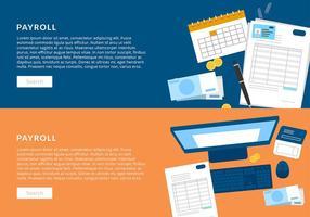 Payroll Banner Template Gratis Vector