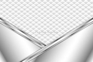 moderne zilveren en witte metallic achtergrond