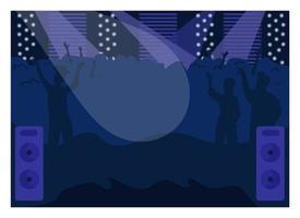 nachtclub dansvloer vector