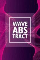 abstracte golvende paarse achtergrond