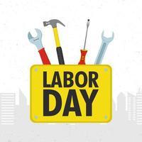 gelukkige viering van de dag van de arbeid