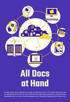 alle documenten bij de hand poster