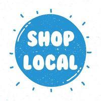 winkel belettering voor lokale campagnes
