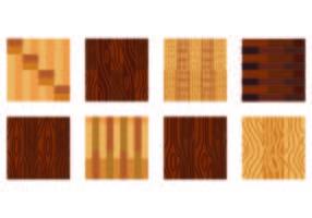 Set Laminate Floor Designs vector
